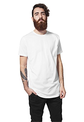 Shaped Long Tee white M