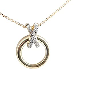 Brand New Real Round Brilliant Diamond Delicate Fancy Pendant With Chain, Yellow Gold Plated 925 Silver