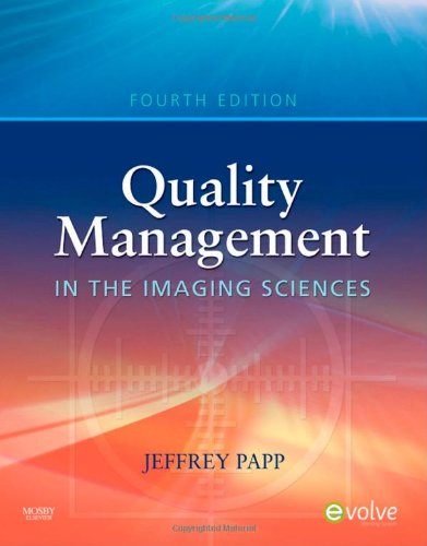 Quality Management in the Imaging Sciences, 4e