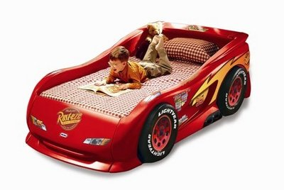 Twin   on Little Tikes Lightning Mcqueen Sports Car Twin Bed   Tweetfeed Com