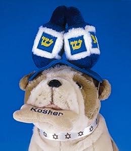 Jewish Plush Pet Toy - Dreidel Hat