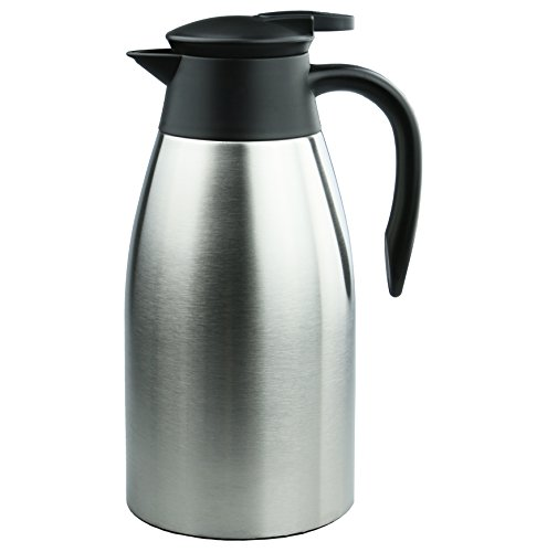 Coffee Carafe:AceChef 68 Oz Stainless Steel Thermal Carafe,Coffee Flask Carafes,Tea Pot with lid,Vacuum Insulated Thermos,2.0 Liter (Large Thermos Carafe compare prices)