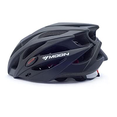Moon Men's AeroFoil Bike Bicycle Cycle Cycling Sport Helmet -Size 58-61cm (22.8-24inch) by Dopobo by Moon