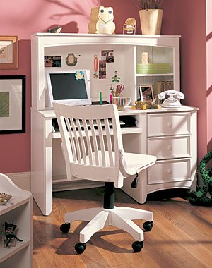 Buy Low Price Comfortable The Getaway Computer Desk with Hutch – Lea 343-545 (B005LWMOKQ)