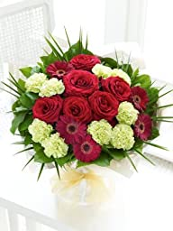 Majestic Hand-tied Flowers | Country Flowers Delivery - Birthday Flowers - Wedding Flowers - Cheap Flowers - International Flower