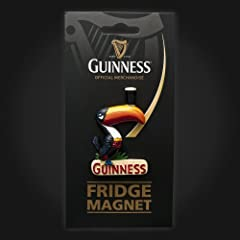Guinness Toucan Ceramic Magnet