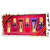Victoria Secret Gift Set Of 6 Love Spell Pure Seduction Amber Romance Mist & Lotion