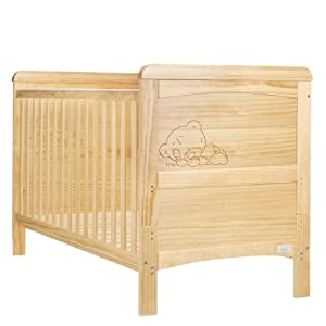 Tiny Tatty Teddy Deluxe Cot Bed (Country Pine)
