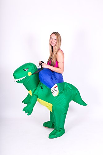 Inflatable Dinosaur T-REX Adult Fancy Dress Costume