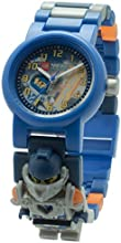 LEGO 8020516 - Reloj para niños, diseño Nexo Knights Clay, multicolor