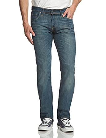 Levi's Homme 527 Low Boot Cut Jeans, Bleu (Explorer), W32/L30