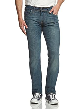 Levi's Homme 527 Low Boot Cut Jeans, Bleu (Explorer), W34/L32