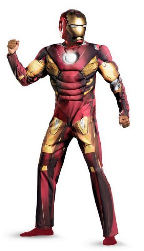Deluxe Iron Man Adult Avengers Movie Costume