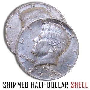 Magic Shim Shell Coin - Half Dollar