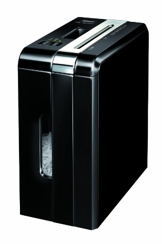 Fellowes DS-1200Cs Home Cross Cut Shredder with Safe Sense Technology