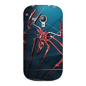 Impressive Climbing Spider Multicolor Back Case Cover for Galaxy S3 Mini