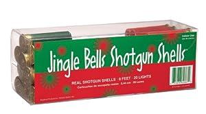 Keystone Products Jingle Bells Shotgun Shells Christmas Lights