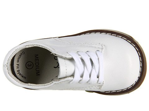 Footmates Baby Boy'S Willy 3 (Infant/Toddler/Little Kid) White Oxford 6.5 Toddler M/W front-520463
