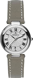 Michel Herbelin Damen-Armbanduhr Analog leder beige 14263/08TA