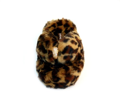Cheap Luckers Women's Leopard Print Slippers (B008LX6YBC)