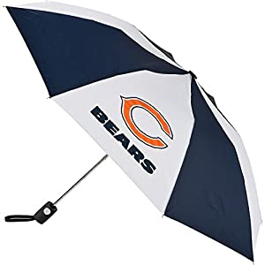 Chicago Bears Nfl Automatic Folding Umbrella from TOTES