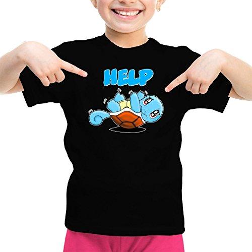 Mdchen-Kinder-T-Shirt-Parodie-auf-Schiggy-von-Pokmon-Manga-359