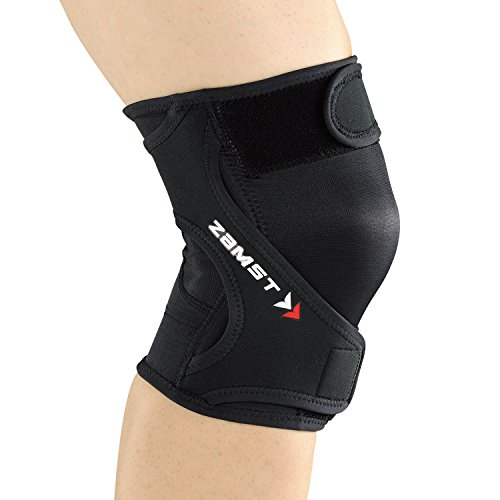 ZAMST(ザムスト) RK-1 ランニング膝サポーター  左足用 372813 ブラック Lサイズ