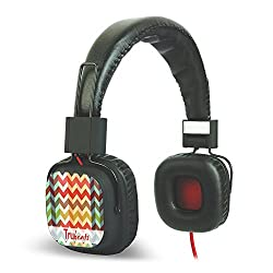 Amkette Tango FDD737BK Trubeats Tango Wired Headphone (Black)
