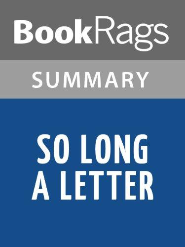 Borrow So Long a Letter by Mariama Ba | Summary & Study Guide by ...