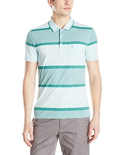 Original Penguin Men's Exploded Stripe Polo