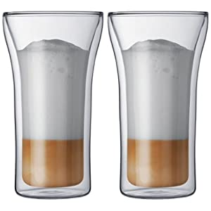 Bodum Assam Double-Wall Cooler Beer Glass, Set of 2 by Bodum