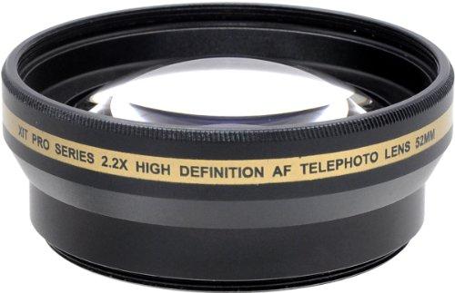 Xit Xt2X52 52Mm 2.2X Telephoto Lens (Black)