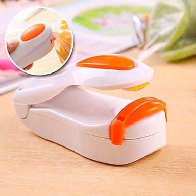 BuW Magnetic Mini Handheld Food Bag Resealer Plastic Bag Heat Sealer (Random Color)