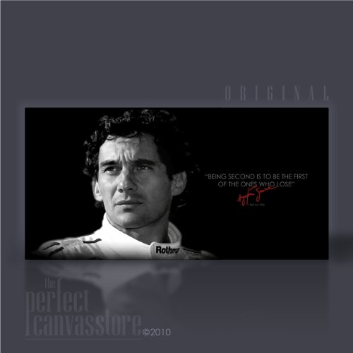 AYRTON SENNA (LEGEND) Original Canvas by Art Williams - Ready to Hang