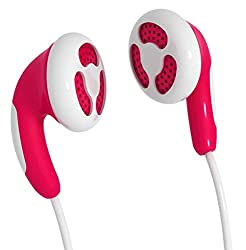 Maxell - CB-Red Stylish Color Budz Earphones