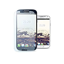 MoArmouz® Super Tempered Glass Screen Protector for Samsung Galaxy S4 Screen Guard - Strongest Tempered Glass For Maximum Protection Shatterproof, Durable & Drop Resistant / HD / 9H Hardness 3D Touch Compatible / Mobile Accessories / Screen Protectors