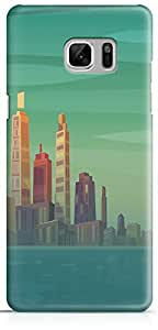 Samsung Galaxy Note 7 Back Cover by Vcrome,Premium Quality Designer Printed Lightweight Slim Fit Matte Finish Hard Case Back Cover for Samsung Galaxy Note 7