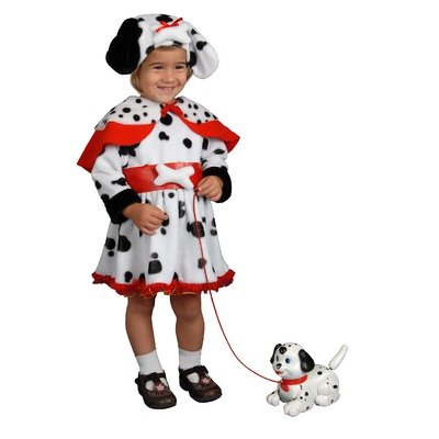 Dalmatian Dress Children's Costume