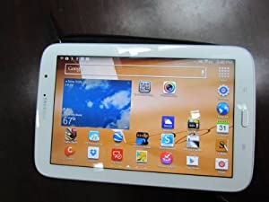 "Samsung Galaxy Note GT-N5110 16 GB Tablet - 8"" - Samsung Exynos 1.60 GHz - Marble White WHITE 8IN GALAXY NOTE 16GB 2 GB RAM - Android 4.1 Jelly Bean - Slate - Multi-touch Screen 1280 x 800 WXGA Display - Bluetooth"