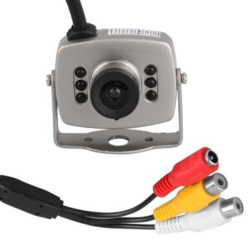 Mini Cámara vídeo a Color NTSC Espía Vigilancia Spycam
