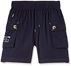 Seals Boys' Shorts (AM8113_1_Navy_8)