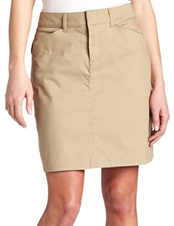 dickies s 20 inch stretch twill skirt at