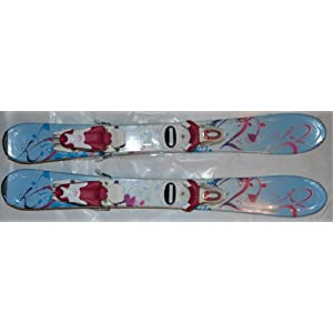 Kids skis K2 Luv 76cm skis K2 skis 76 cm with Roxy T4 Bindings SET NEW