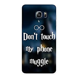 Enticing Dont Touch Back Case Cover for Galaxy Note 5