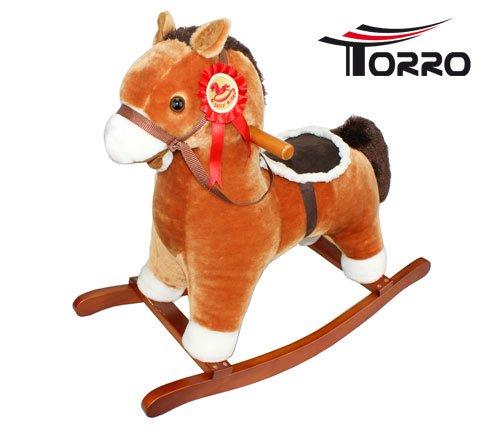 Torro 3191701002 - Schaukelpferd Klein mit Effekten