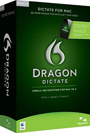 Dragon Dictate 2.5 (Mac)