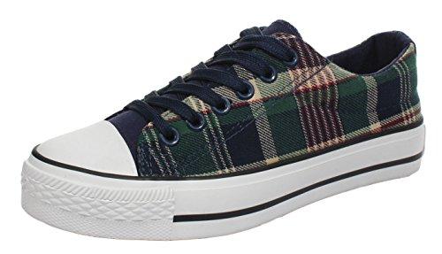 Xiaxian Couple Vanvas Casual Fashion Shoes For Man(10 D(M)US,Green)