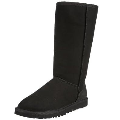 "Women's Ugg Australia ""Classic Tall"" Boots - Black (5, Black)"