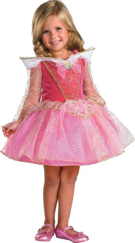 Lets Party Disney Sleeping Beauty Aurora Costume - Toddler 3t-4t