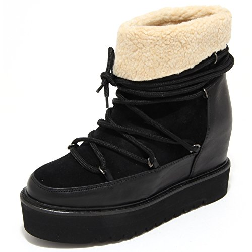 1241M doposci donna neri PALOMITAS saovage stivali scarpe snow boots shoes women [35]